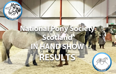 In Hand show results