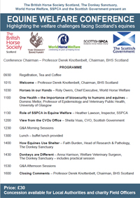 EQUINE WELFARE CONFERENCE